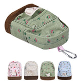 Canvas Mini Floral Backpack