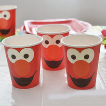 Load image into Gallery viewer, 8pc Sesame Street Paper Cups