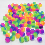 100pcs 25mm Rubber Toy Bouncing Ball for Kids