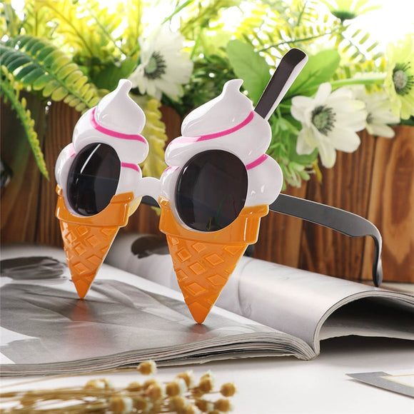 Ice Cream Cone Party Glasses