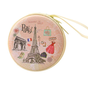 Paris Eiffel Mini Wallet Pouch Bag