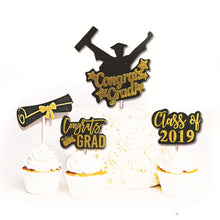 Load image into Gallery viewer, 5PC Graduation Cake Insert