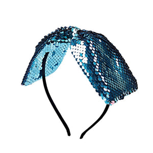 Hairband Boutique Mermaid Bows, Headband For Women Girls Dance Party Summer Hair Accessories