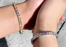Load image into Gallery viewer, 14k Gold Icy Baby Bracelet