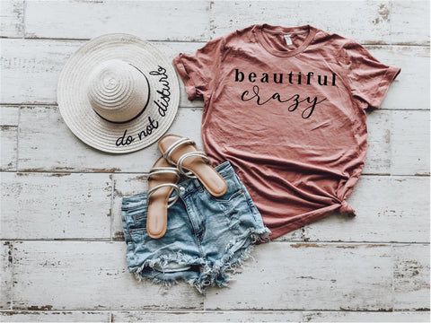 Beautiful Crazy Lady Tee