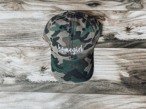 Homegirl Lady Camo Hat
