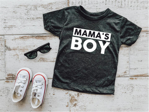 Mama's Boy Little Tee