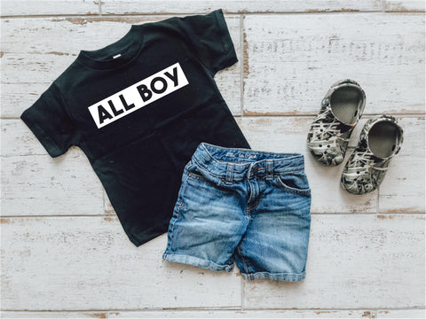 All Boy Little Tee