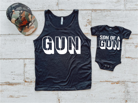 Son of a Gun Little Tee
