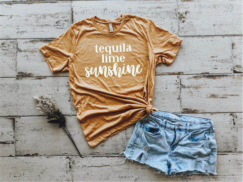 Tequila Lime Sunshine Tee