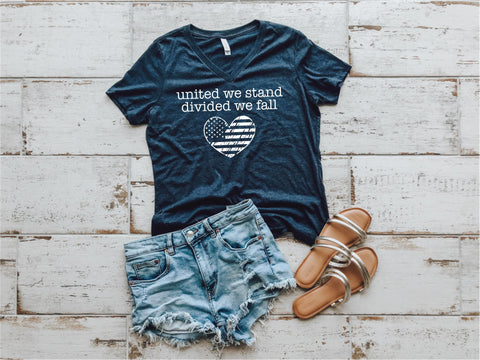 United We Stand Heart Tee