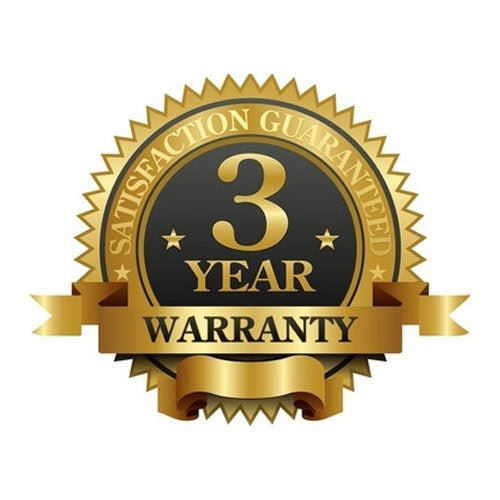 3 Year Warranty & ISO Certificate