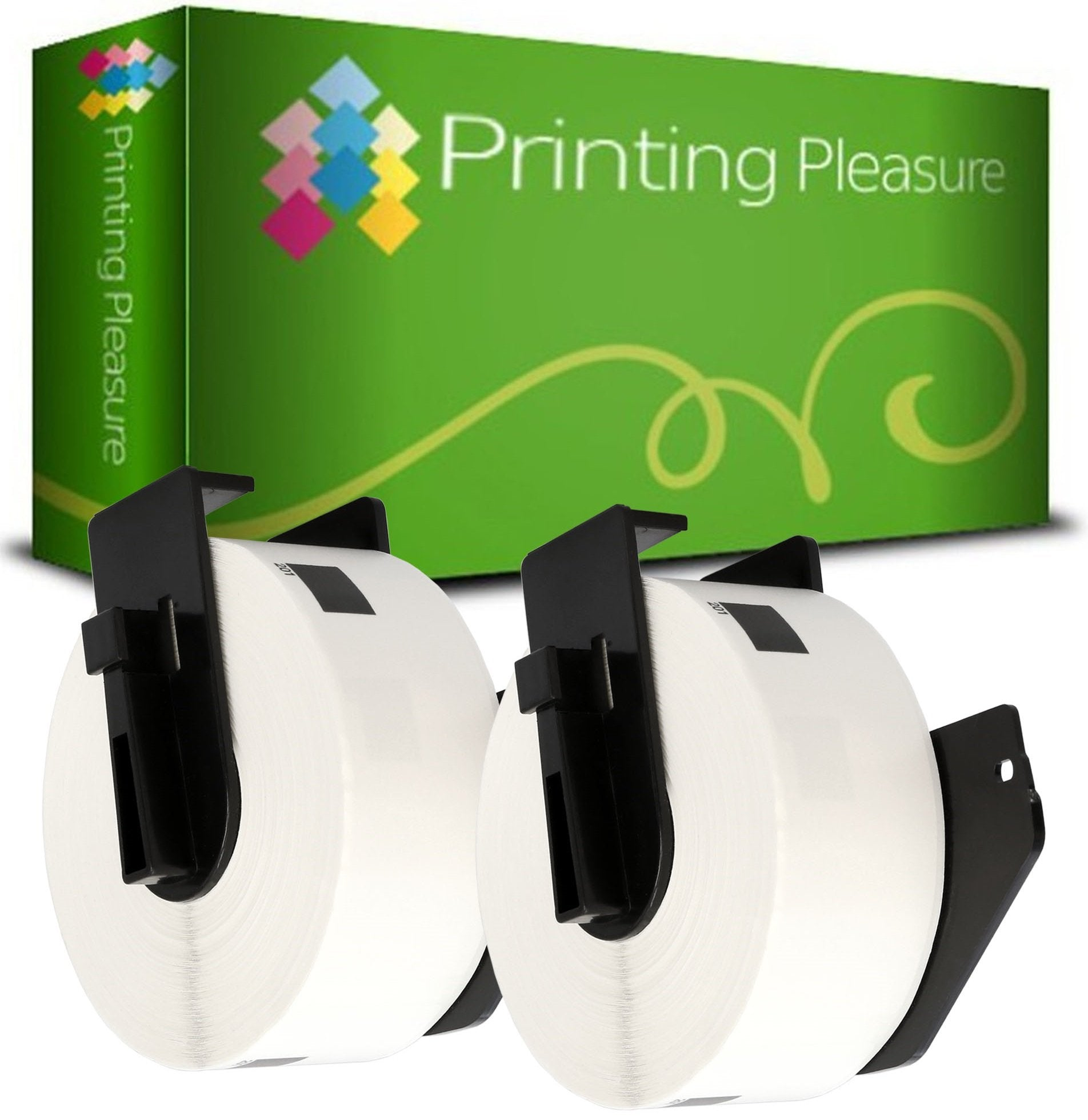 DK-11201 29mm x 90mm White Standard Address Labels compatible with Brother P-Touch - Printing Pleasure