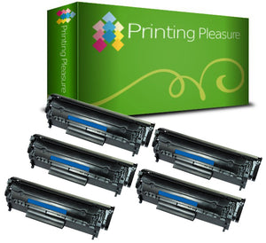 Compatible Q2612A 12A Toner Cartridge for HP - Printing Pleasure