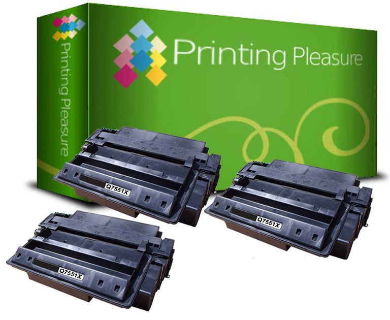 Compatible Q7551X 51X Toner Cartridge for HP - Printing Pleasure