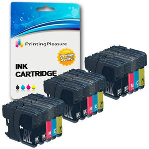 Compatible LC1100 LC980 Ink Cartridge for Brother - Printing Pleasure