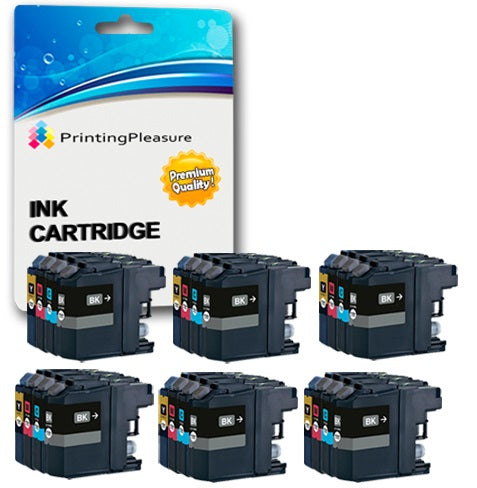 Compatible LC-12E Ink Cartridges for Brother - Printing Pleasure