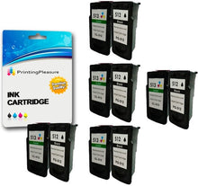 Load image into Gallery viewer, Remanufactured PG-512 CL-513 Ink Cartridges for Pixma iP2700 - Printing Pleasure