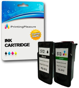 Remanufactured PG-512 CL-513 Ink Cartridges for Pixma iP2700 - Printing Pleasure