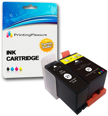 Compatible Dell Series 21 Ink Cartridges for Dell - Printing Pleasure