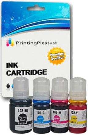 Compatible 102 Refill Ink Cartridges for Epson - Printing Pleasure