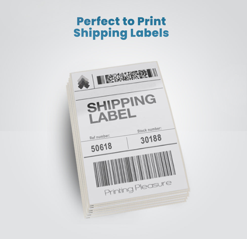 Thermal label printer 4x6 GP-1324D - High Speed 1D 2D QR Barcode Labels 40-120mm Width Printing