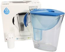 Load image into Gallery viewer, Water Filter Jug Dafi Luna Classic 3.3L with Free Filter Cartridge - Blue - Printing Pleasure