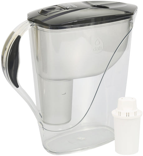 Water Filter Jug Dafi Luna Classic 3.3L with Free Filter Cartridge - Graphite - Printing Pleasure