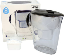 Load image into Gallery viewer, Water Filter Jug Dafi Luna Unimax 3.3L with Free Filter Cartridge - Graphite - Printing Pleasure