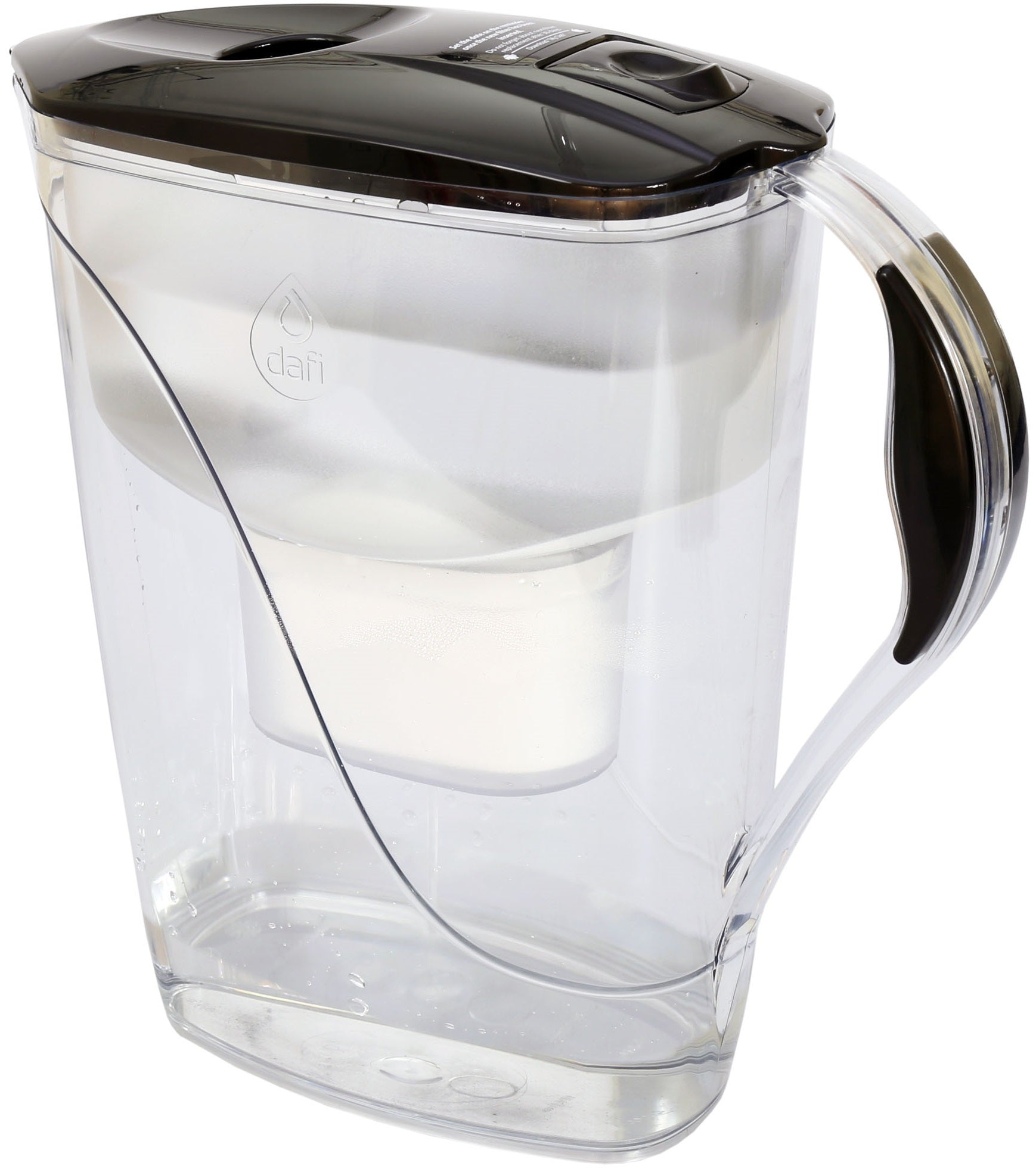 Water Filter Jug Dafi Luna Unimax 3.3L with Free Filter Cartridge - Graphite - Printing Pleasure
