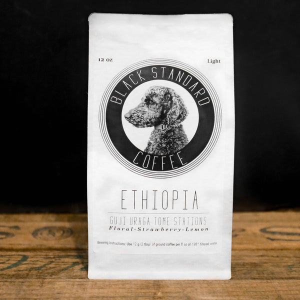 Ethiopia Guji Uraga Tome Station | Light Roast - Black Standard Coffee