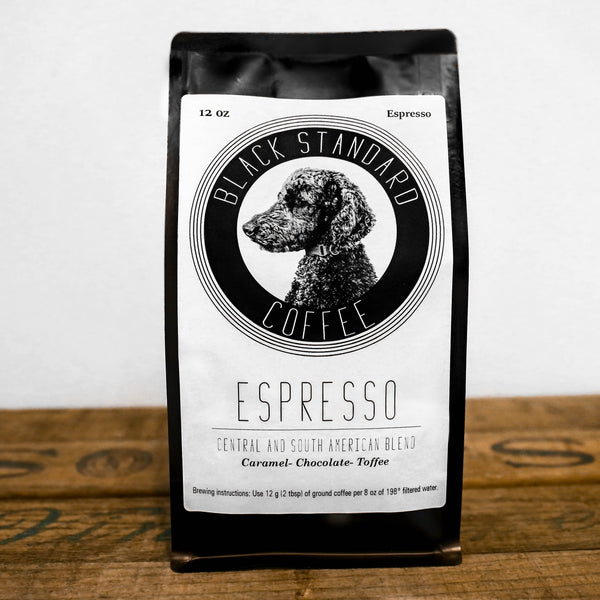 Signature Espresso Blend - Black Standard Coffee