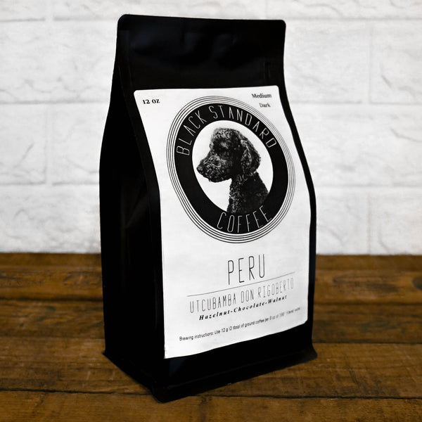 Peru Utcubamba Don Rigoberto | Medium-Dark Roast - Black Standard Coffee