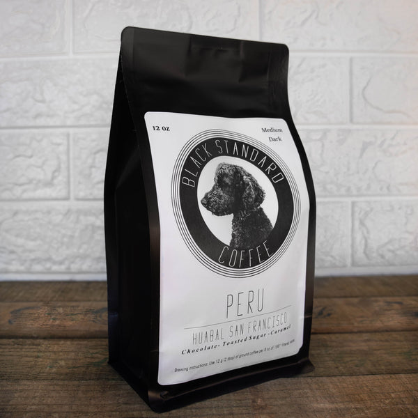 Peru Huabal San Francisco | Medium-Dark Roast - Black Standard Coffee
