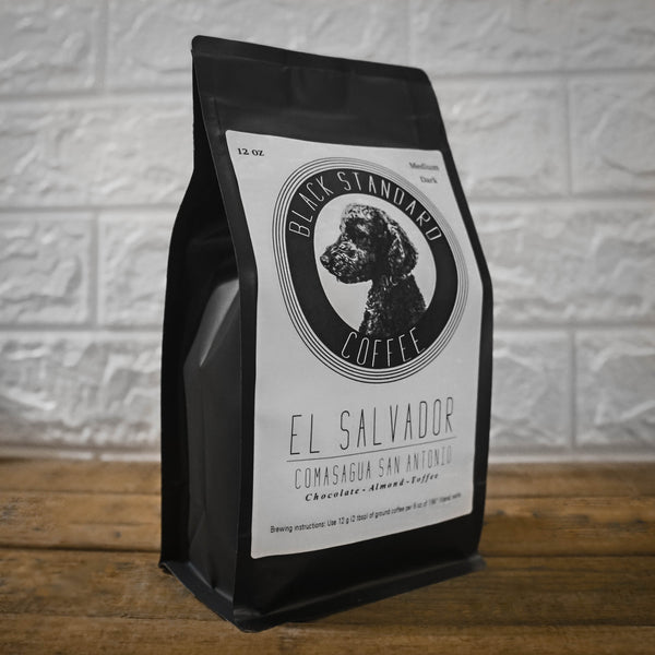 El Salvador Comasagua San Antonio | Medium-Dark Roast - Black Standard Coffee