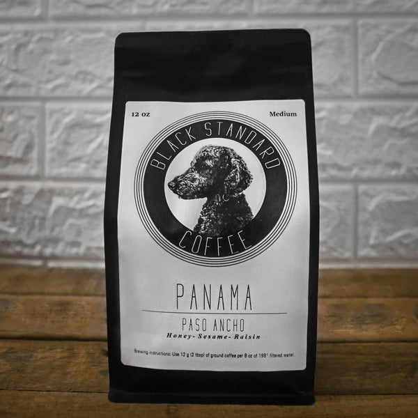 Panama Paso Ancho | Medium Roast - Black Standard Coffee