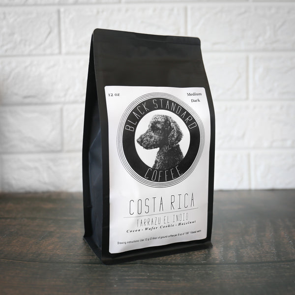 Costa Rica Tarrazu El Indio | Medium-Dark Roast - Black Standard Coffee