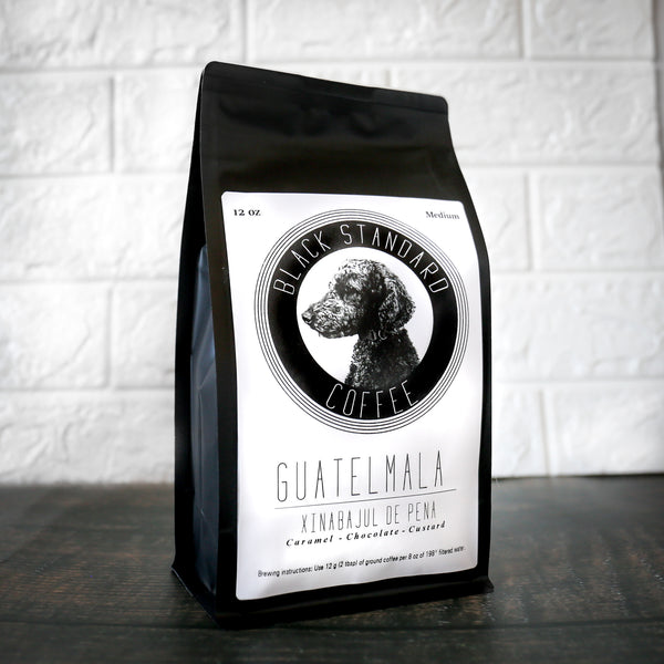 Guatemala Xinabajul De Pena | Medium Roast - Black Standard Coffee