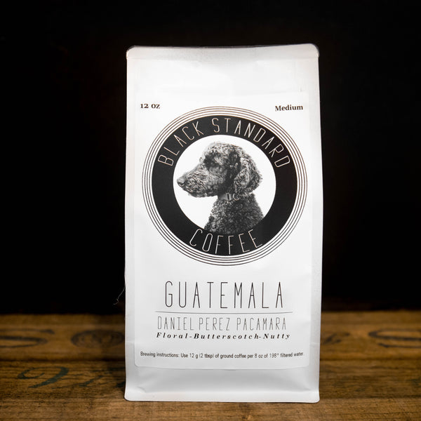 Guatemala Daniel Pérez Pacamara | Medium Roast - Black Standard Coffee