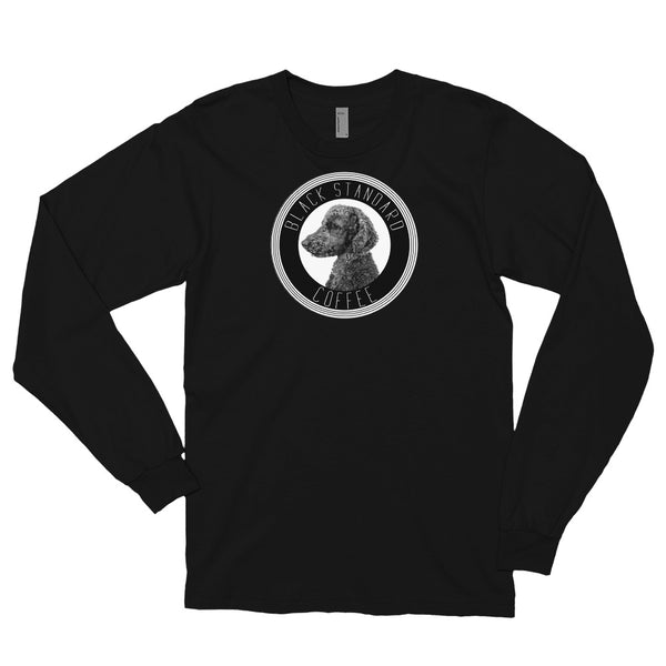 Black Standard Long sleeve t-shirt - Black Standard Coffee