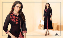 Load image into Gallery viewer, ZKT0207(M) 10 - Stylish Kurti Rangoli Vol 2