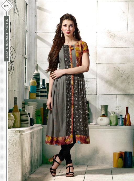 KT0702(XXL)02 - Stylish Kurti Tapsi Pannu Vol 2