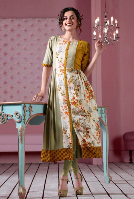 KT0702(XXL)04 - Stylish Kurti Tapsi Pannu Vol 2