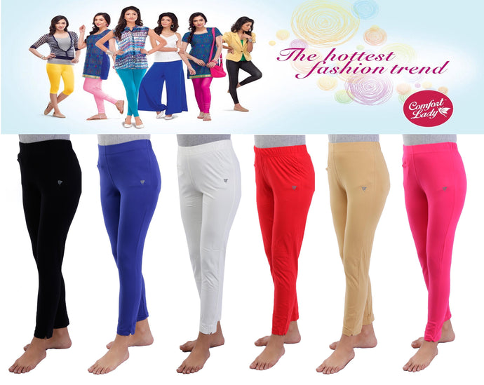 LG201(Plus Size) - Comfort Lady Kurti Pants Leggings plus size.