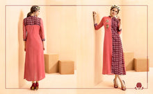 Load image into Gallery viewer, KT0207(M) 05 - Stylish Kurti Rangoli Vol 2