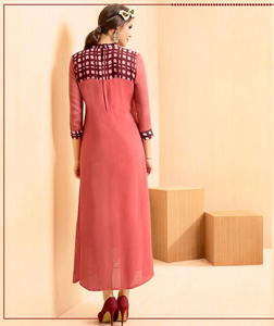 KT0207(M) 05 - Stylish Kurti Rangoli Vol 2