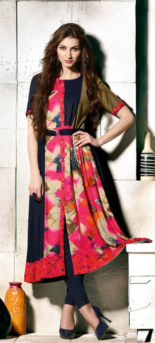 KT0702(XXL)05 - Stylish Kurti Tapsi Pannu Vol 2