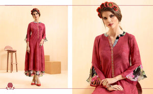 ZKT0207(M) 08 - Stylish Kurti Rangoli Vol 2