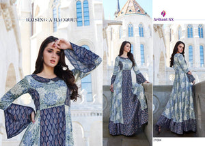 KT0104 (L) & (XL) 05 - Stylish Kurti Arihant Krishwi Vol 2