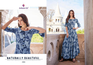 KT0107(XL)02 - Stylish Kurti Arihant Nx Rivaah Vol 3